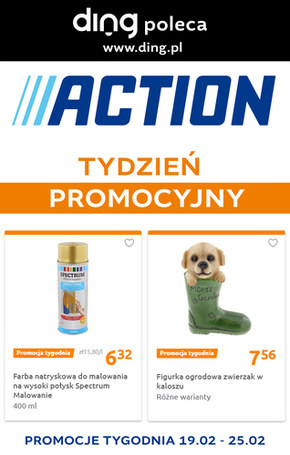 Tydzień promocyjny trwa - Action