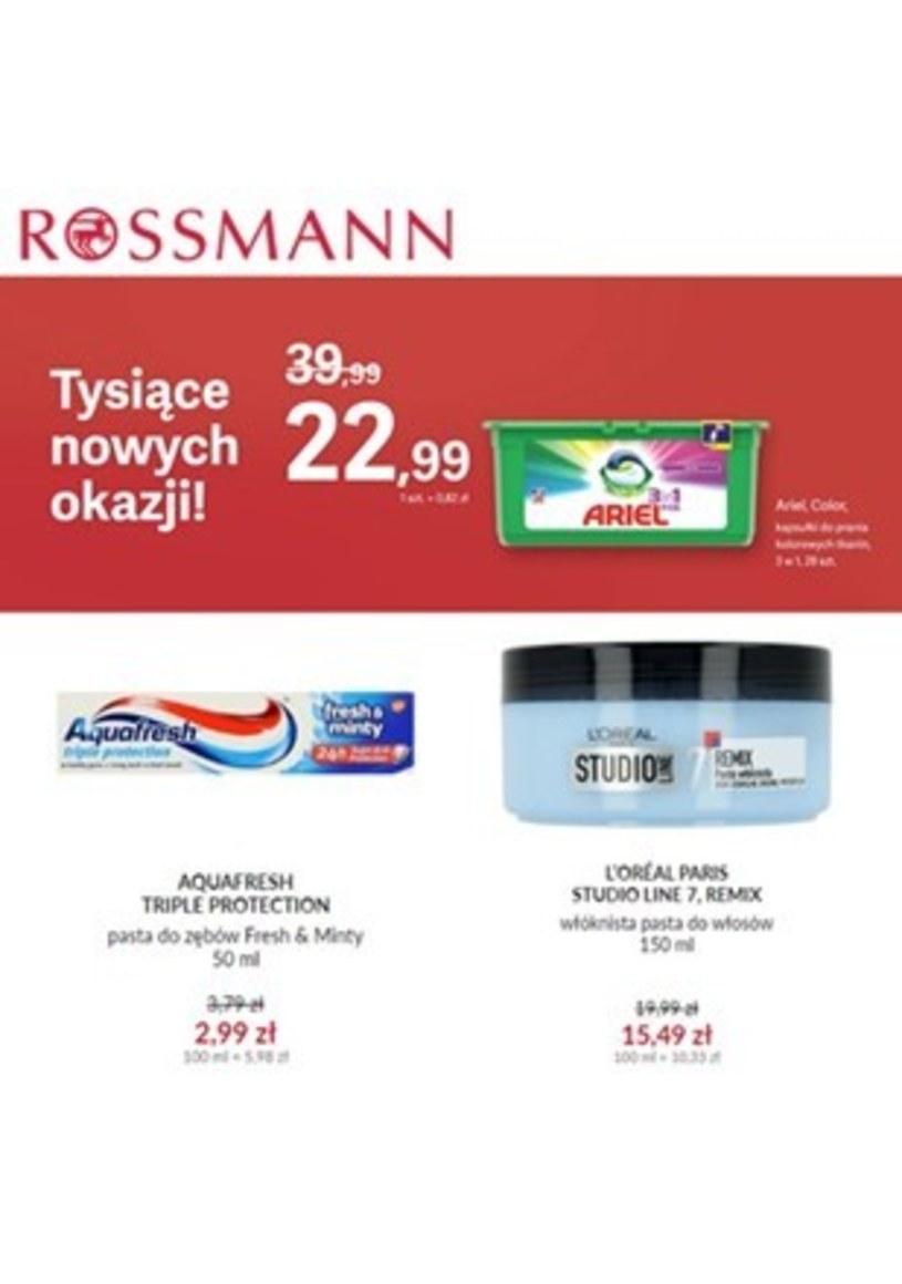 Gazetka promocyjna Rossmann - ważna od 20. 02. 2020 do 28. 02. 2020