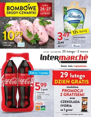 Bombowe ceny w Intermarche