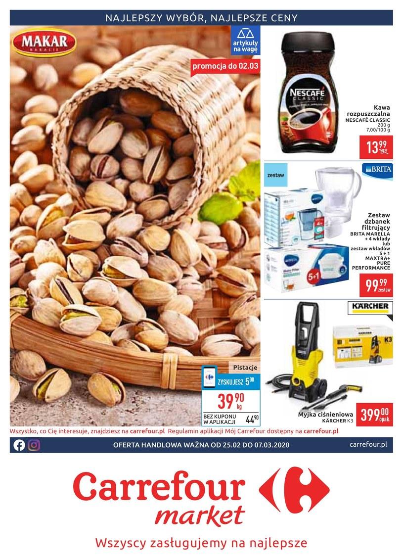Gazetka promocyjna Carrefour Market - ważna od 25. 02. 2020 do 07. 03. 2020