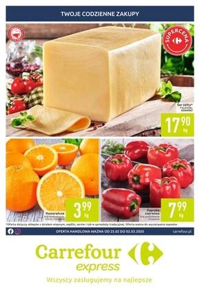 Twoje codzienne zakupy w Carrefour Express