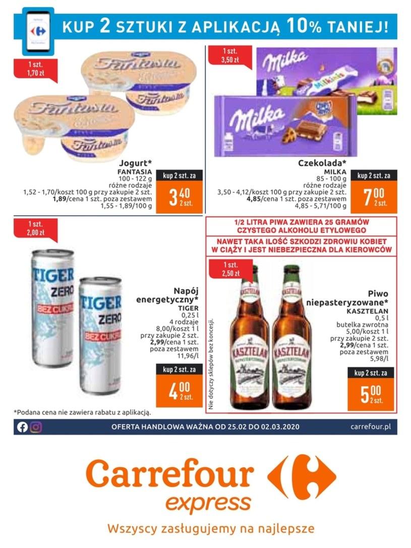 Gazetka promocyjna Carrefour Express - ważna od 25. 02. 2020 do 02. 03. 2020