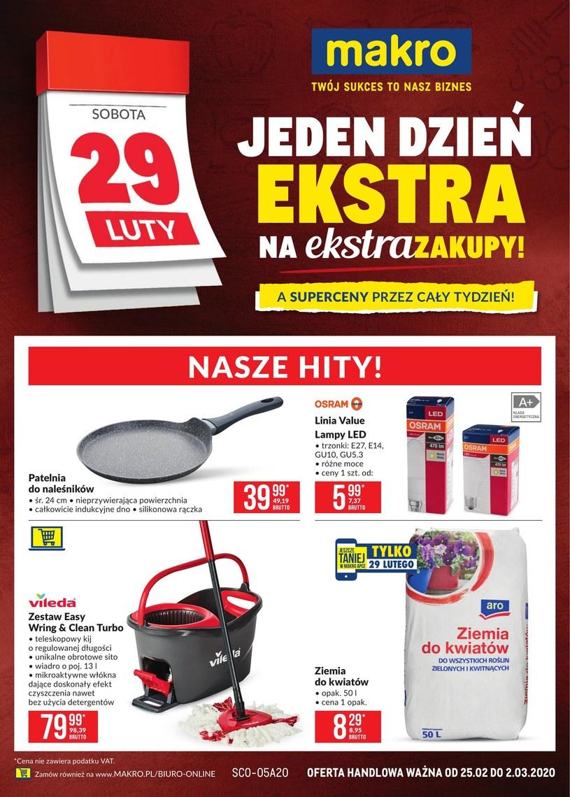 Gazetka promocyjna Makro Cash&Carry - ważna od 25. 02. 2020 do 02. 03. 2020