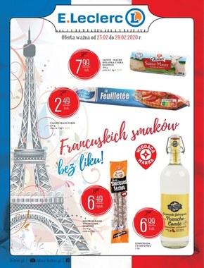 Francuskich smaków bez liku w E.Leclerc