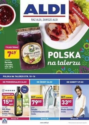 Polska na talerzu w Aldi