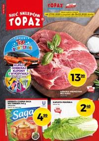 Gazetka promocyjna Topaz - Kupuj taniej w Topaz  - ważna do 04-03-2020