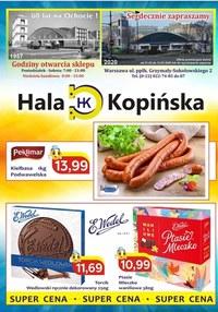 Gazetka promocyjna Hala Kopińska - Promocyjne zaproszenie - Hala Kopińska - ważna do 13-03-2020