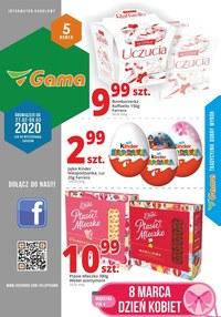 Gazetka promocyjna Gama - Promocje w sklepach Gama - ważna do 09-03-2020