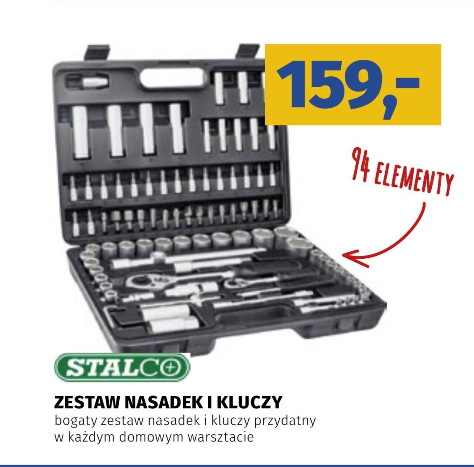 Zestaw kluczy nasadowych Stalco niska cena