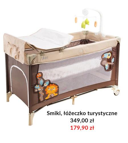Łóżeczko dziecięce Smiki