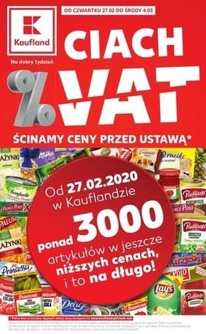 Ścinamy ceny przed ustawą  - Kaufland