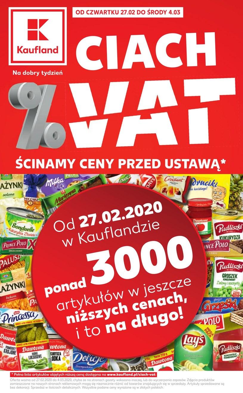 Gazetka promocyjna Kaufland - ważna od 27. 02. 2020 do 04. 03. 2020