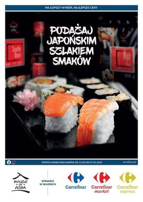 Podążaj japońskim szlakiem w Carrefour