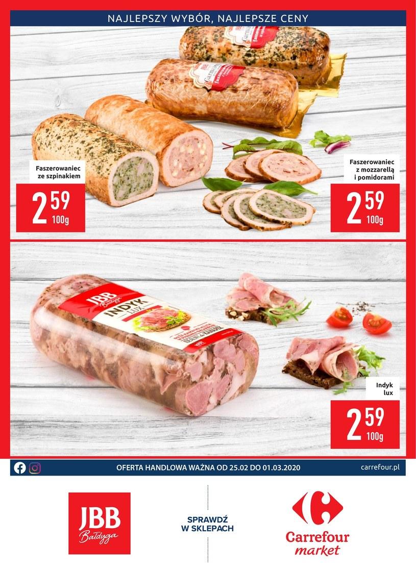 Gazetka promocyjna Carrefour Market - ważna od 25. 02. 2020 do 01. 03. 2020