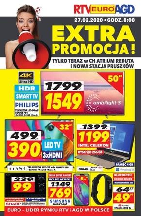 Extra Promocje w RTV EURO AGD- Pruszków & Reduta