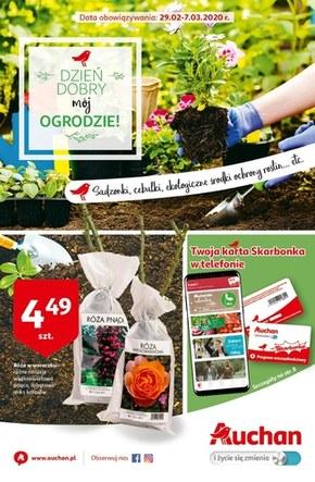 Dzień dobry mój ogrodzie! - Auchan Hipermarket