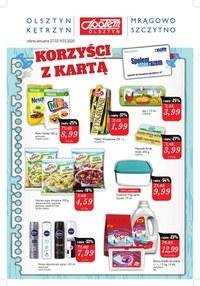 Gazetka promocyjna Społem Olsztyn - Korzyści z kartą Społem Olsztyn - ważna do 09-03-2020