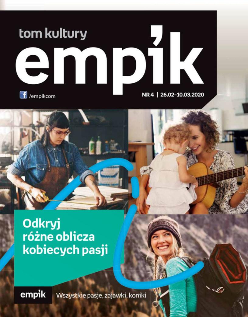 Gazetka promocyjna EMPiK - ważna od 26. 02. 2020 do 10. 03. 2020