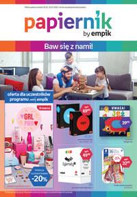 Gazetka promocyjna Papiernik by Empik - Baw się z Papiernik by EMPiK - ważna do 10-03-2020