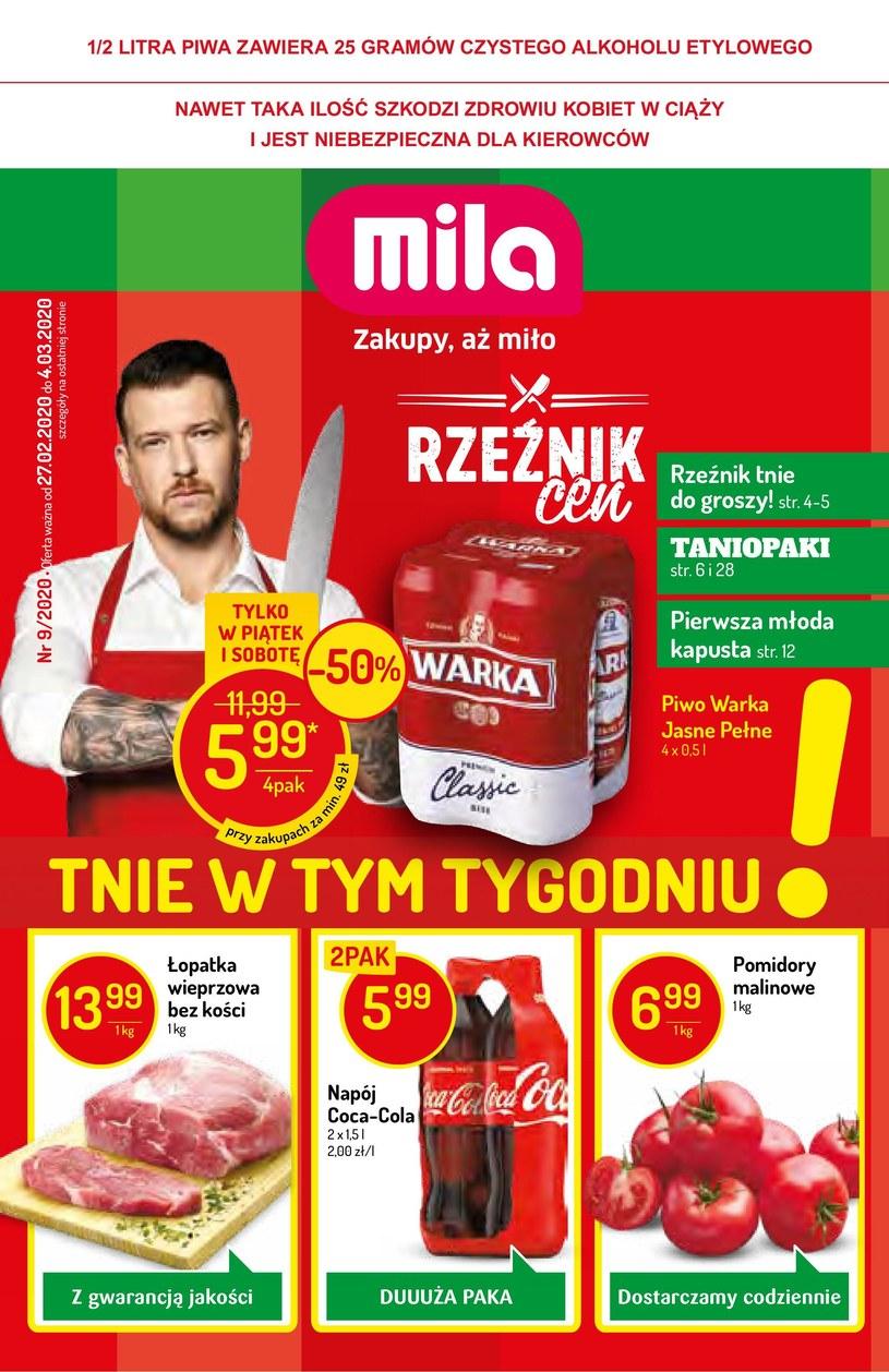 Gazetka promocyjna MILA - ważna od 27. 02. 2020 do 04. 03. 2020
