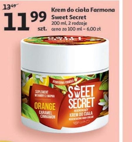 Krem do ciała Sweet Secret