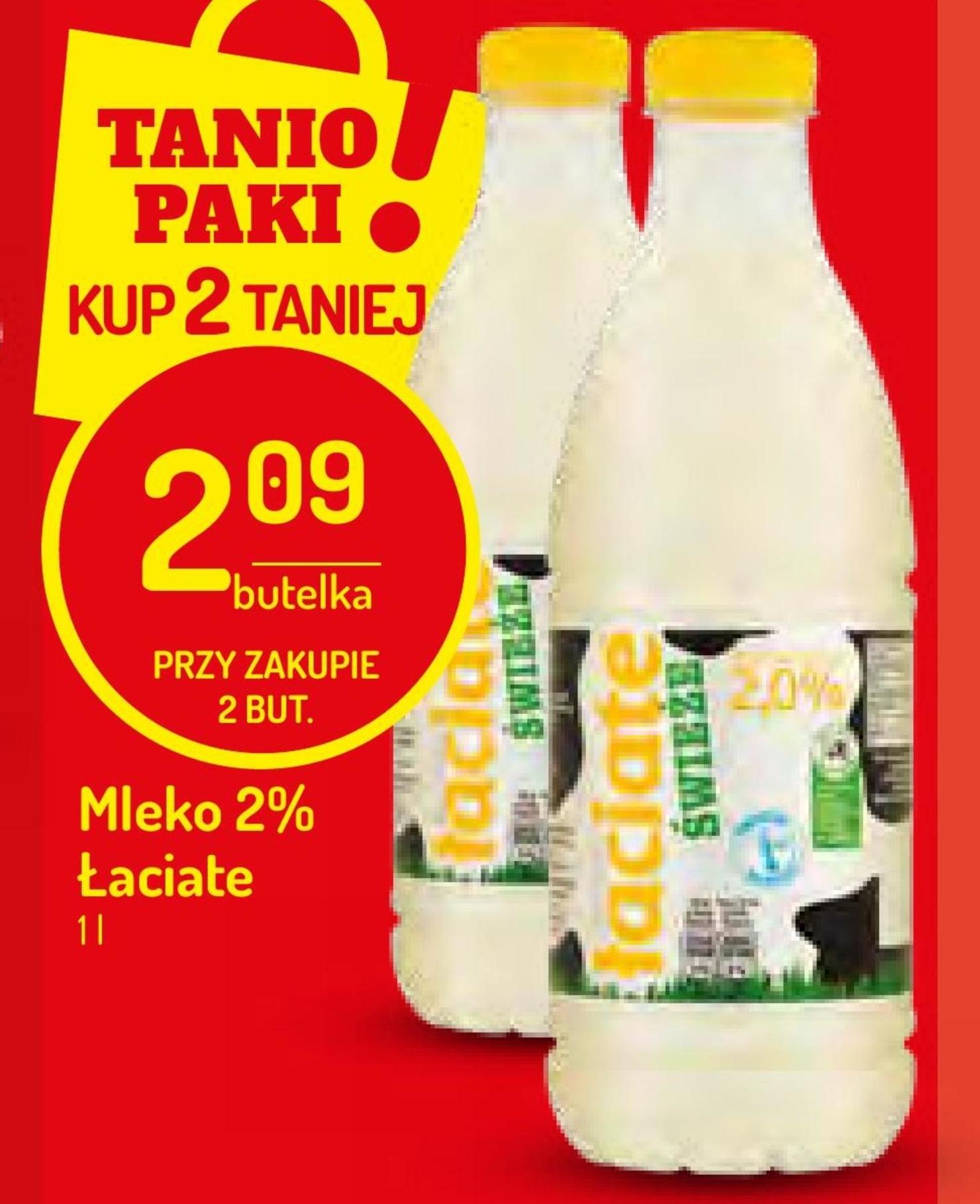 Mleko Łaciate niska cena