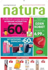 Gazetka promocyjna Drogerie Natura - Dzień kobiet - Drogerie Natura! - ważna do 11-03-2020