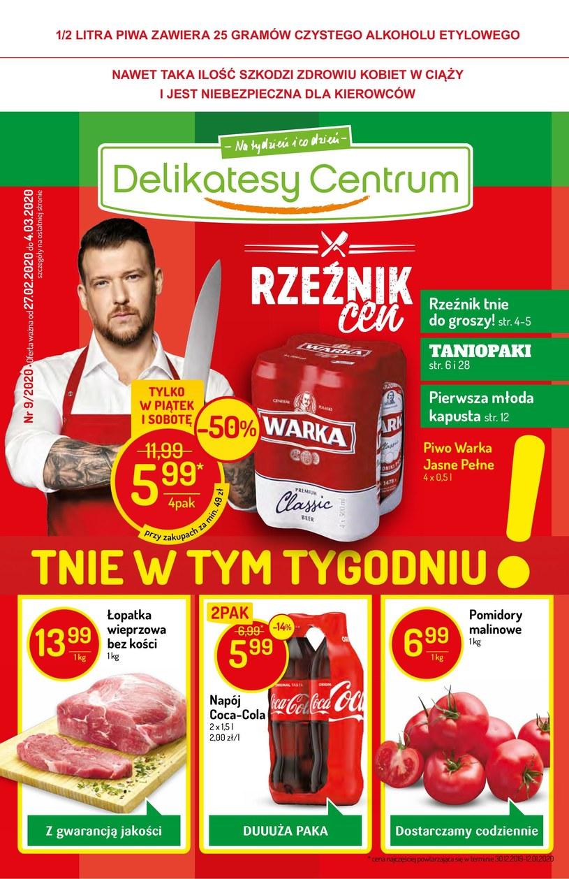 Gazetka promocyjna Delikatesy Centrum - ważna od 27. 02. 2020 do 04. 03. 2020