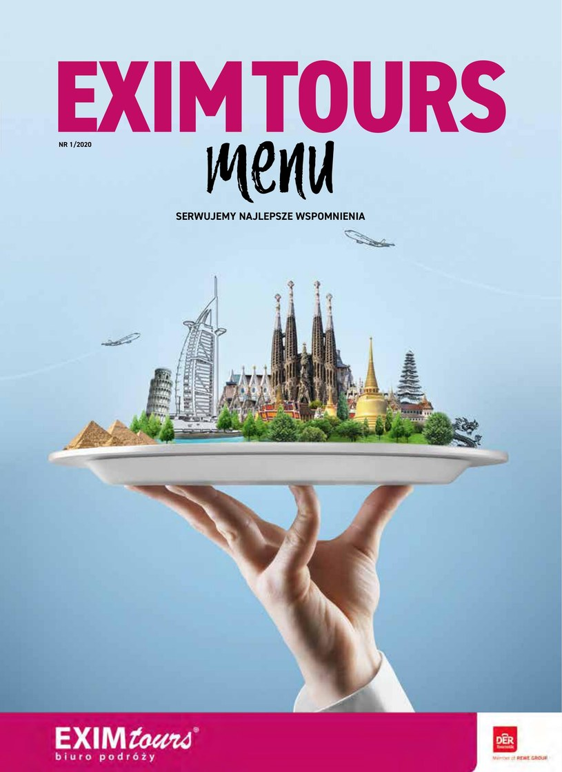 EXIM Tours: 1 gazetka