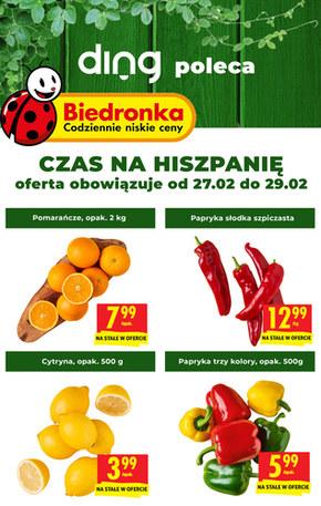 Czas na Hiszpanię w Biedronce!