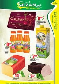Gazetka promocyjna Sezamek - Promocje w sklepie Sezamek - ważna do 15-03-2020