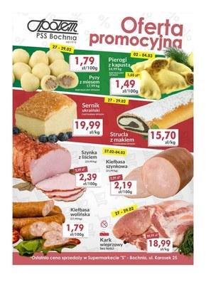 Oferta promocyjna sklepu PSS Bochnia