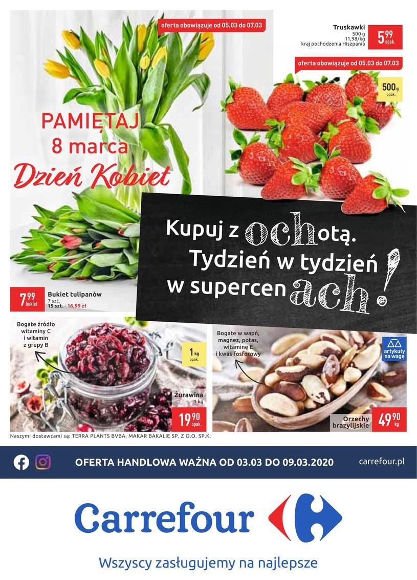Gazetka promocyjna Carrefour - ważna od 03. 03. 2020 do 09. 03. 2020