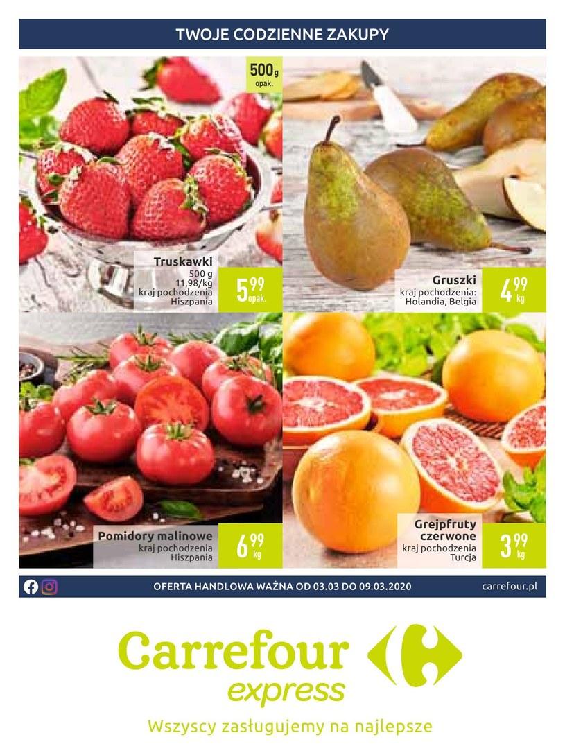 Gazetka promocyjna Carrefour Express - ważna od 03. 03. 2020 do 09. 03. 2020
