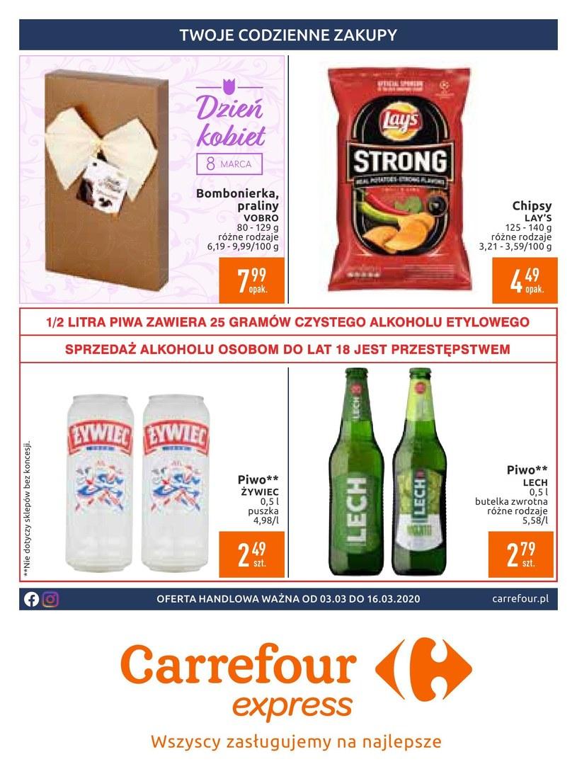 Gazetka promocyjna Carrefour Express - ważna od 03. 03. 2020 do 16. 03. 2020