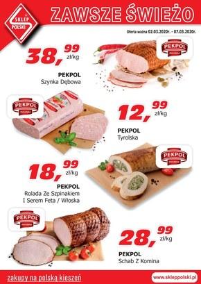 Zawsze świeże produkty w Sklepie Polskim!