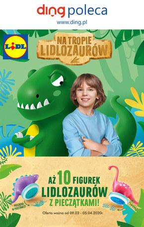 Szał na Lidlozaury w Lidlu!