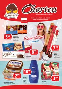 Gazetka promocyjna Chorten - Nowa oferta Chorten - ważna do 11-03-2020