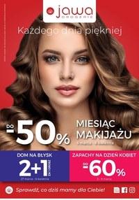 Gazetka promocyjna Jawa Drogerie - Miesiąc makijażu w Drogeriach Jawa - ważna do 06-04-2020