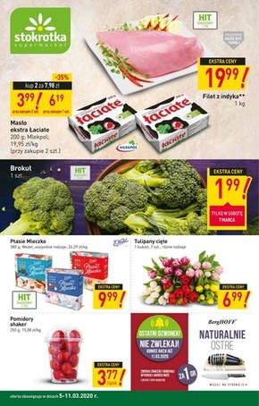 Promocje w Stokrotce Supermarket