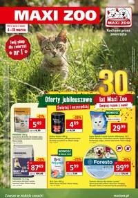 Gazetka promocyjna Maxi ZOO - Oferta jubileuszowa w Maxi Zoo - ważna do 10-03-2020