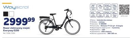 Rower elektryczny Wayscral