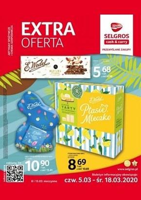 Extra oferta W sklepach Selgros!
