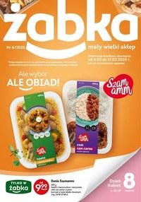 Gazetka promocyjna Żabka - Ale wybór w sklepach Żabka! - ważna do 17-03-2020