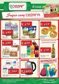 Gazetka promocyjna Delikatesy CEZAR - Super ceny Cezara! - ważna do 18-03-2020