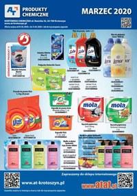 Gazetka promocyjna At - Chemia i kosmetyki w AT - ważna do 31-03-2020