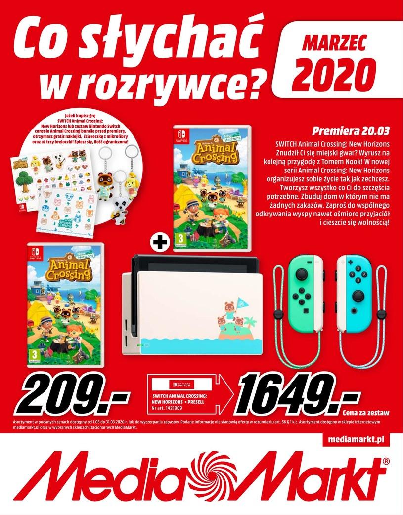 Gazetka promocyjna Media Markt - ważna od 01. 03. 2020 do 31. 03. 2020