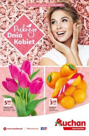 Pięknego Dnia Kobiet życzy Auchan!