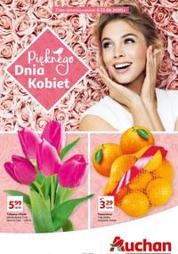 Gazetka promocyjna Auchan Supermarket - Pięknego Dnia Kobiet życzy Auchan! - ważna do 11-03-2020