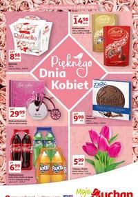 Gazetka promocyjna Moje Auchan - Promocje do Dnia Kobiet w Moje Auchan! - ważna do 11-03-2020
